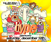 Amnesia Hype Pajama Party - Amnesia Nightclub Graphic Designs