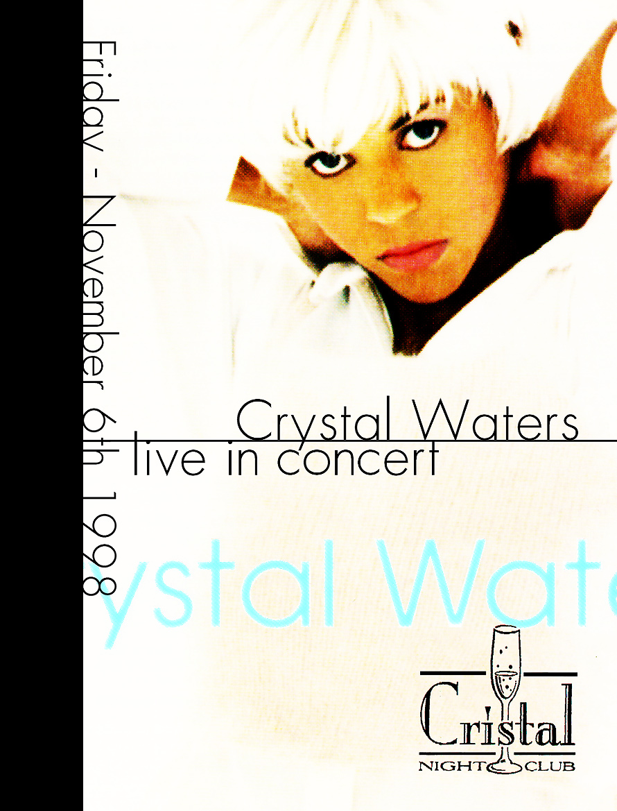 Crystal Waters Live in Concert