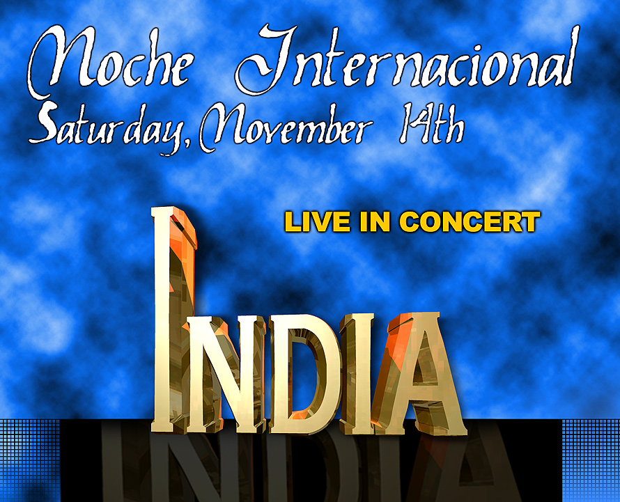 Noche Internacional India Live at Cristal Nightclub