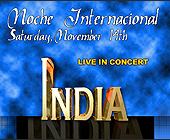 Noche Internacional India Live at Cristal Nightclub - created November 03, 1998