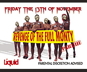 Full Monty Friday the 13th of November - 1313x1000 graphic design