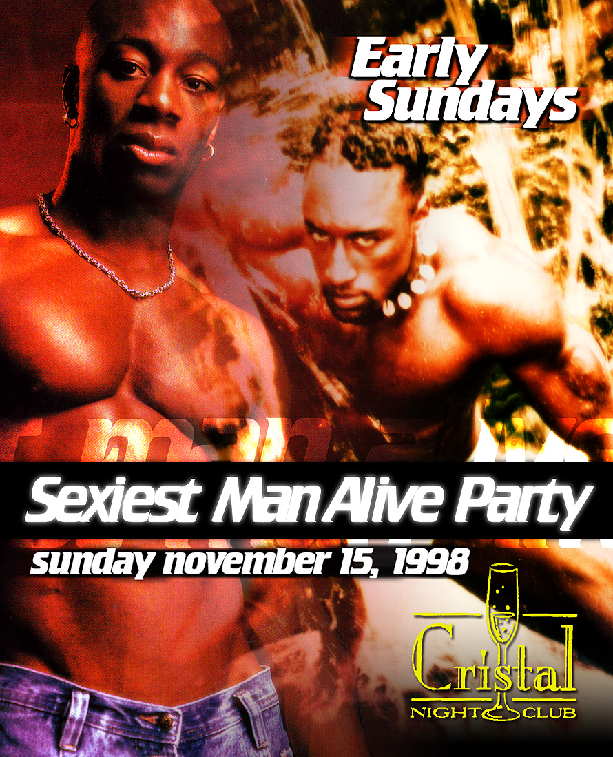 Sexiest Man Alive Party at Cristal Nightclub