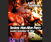 Sexiest Man Alive Party at Cristal Nightclub - tagged with tickets