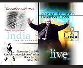 Noche International Presents India Live at Cristal Nightclub - Latin Graphic Designs