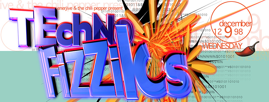 Enerjive Chili Pepper Just Funkin'