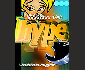 Amnesia Hype Ladies Night - Amnesia Nightclub Graphic Designs