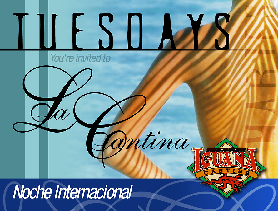 Noche Internacional at Cafe Iguana
