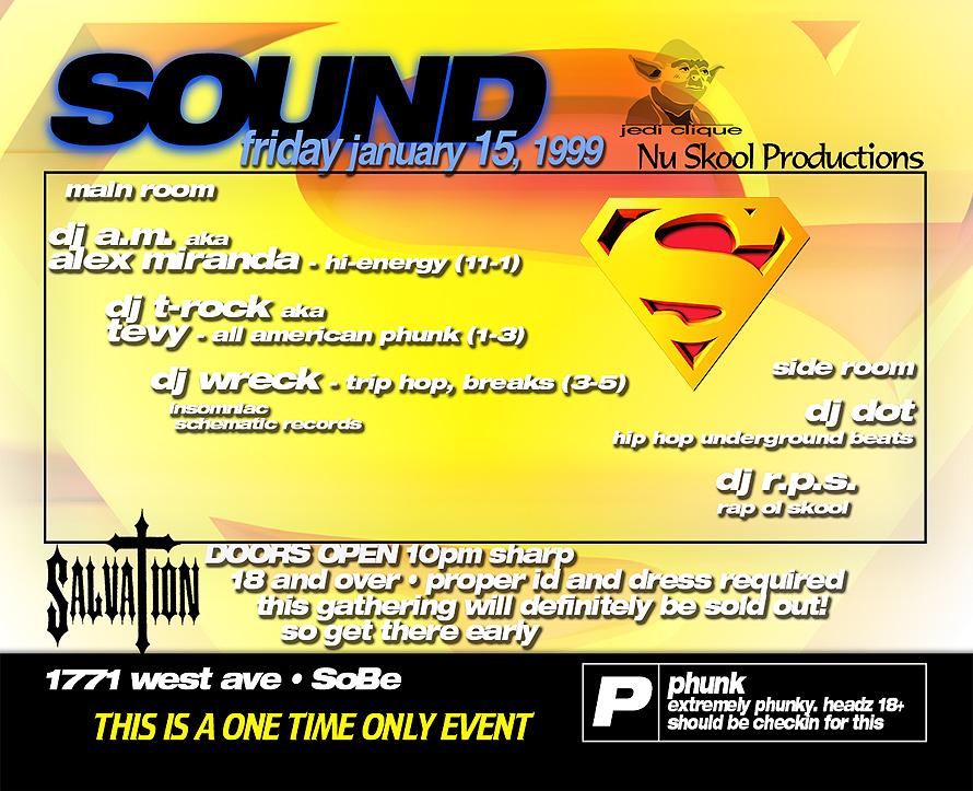Sound Event at Salvation Nightclub