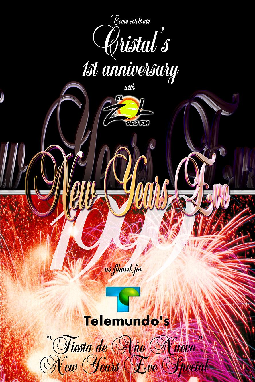 New Years Eve 1999 at Cristal Nightclub