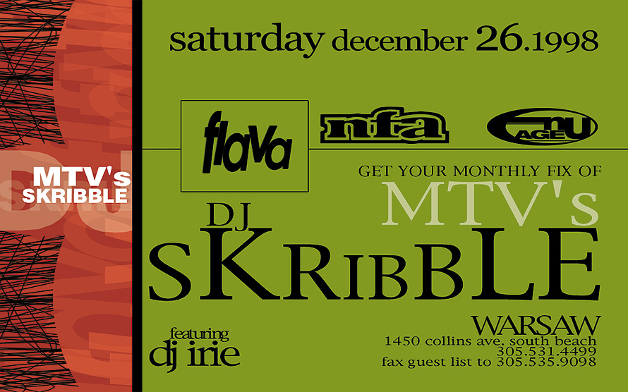 Get Your Monthly Fix of MTV's DJ Skribble