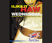 Raw Wednesday at Jet Set Nightclub - 1313x1000 graphic design