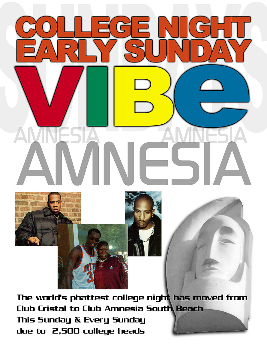 The World's Phattest College Night at Amnesia