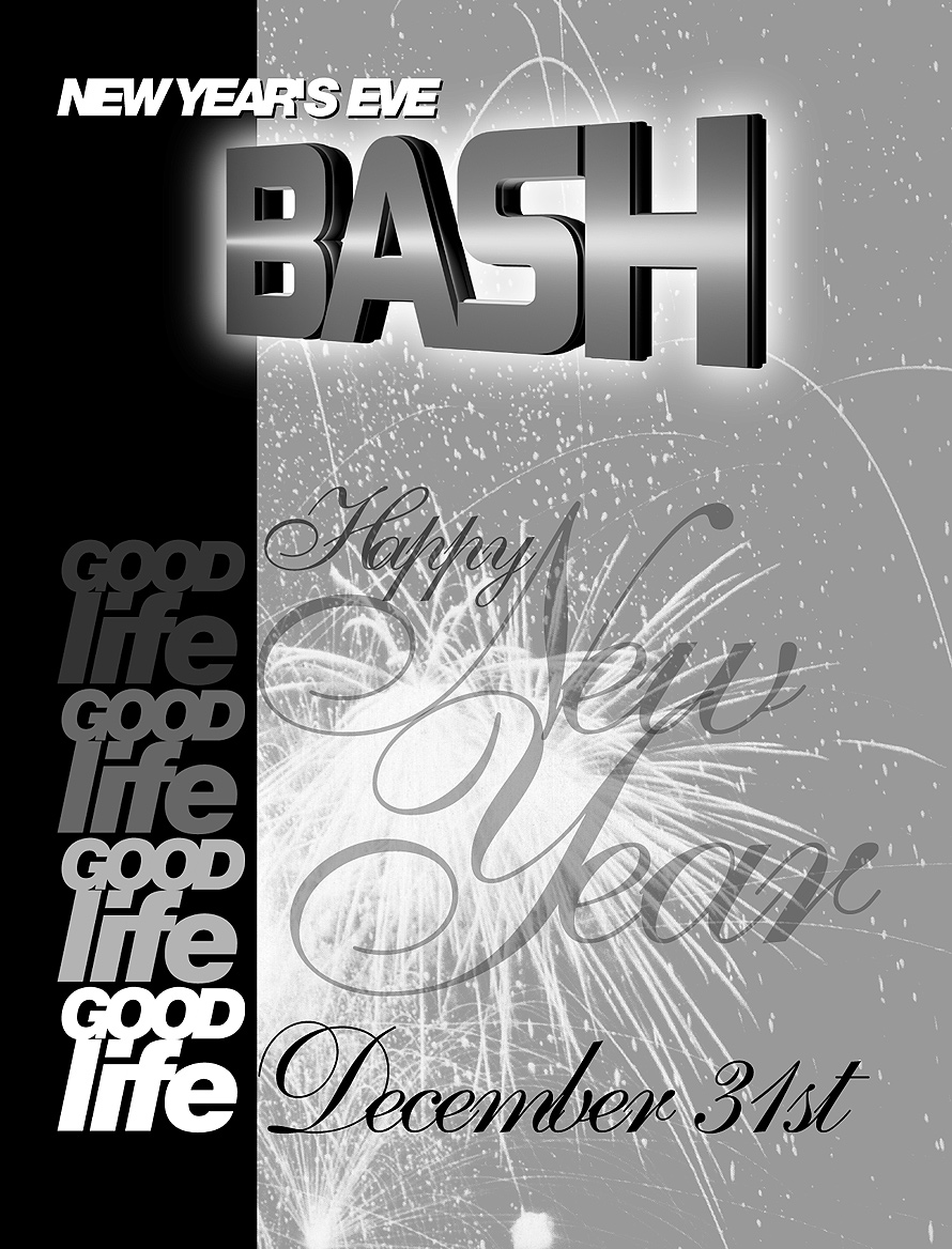 Good Life New Year's Eve Bash