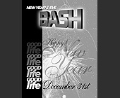 Good Life New Year's Eve Bash - 1200x1575 graphic design