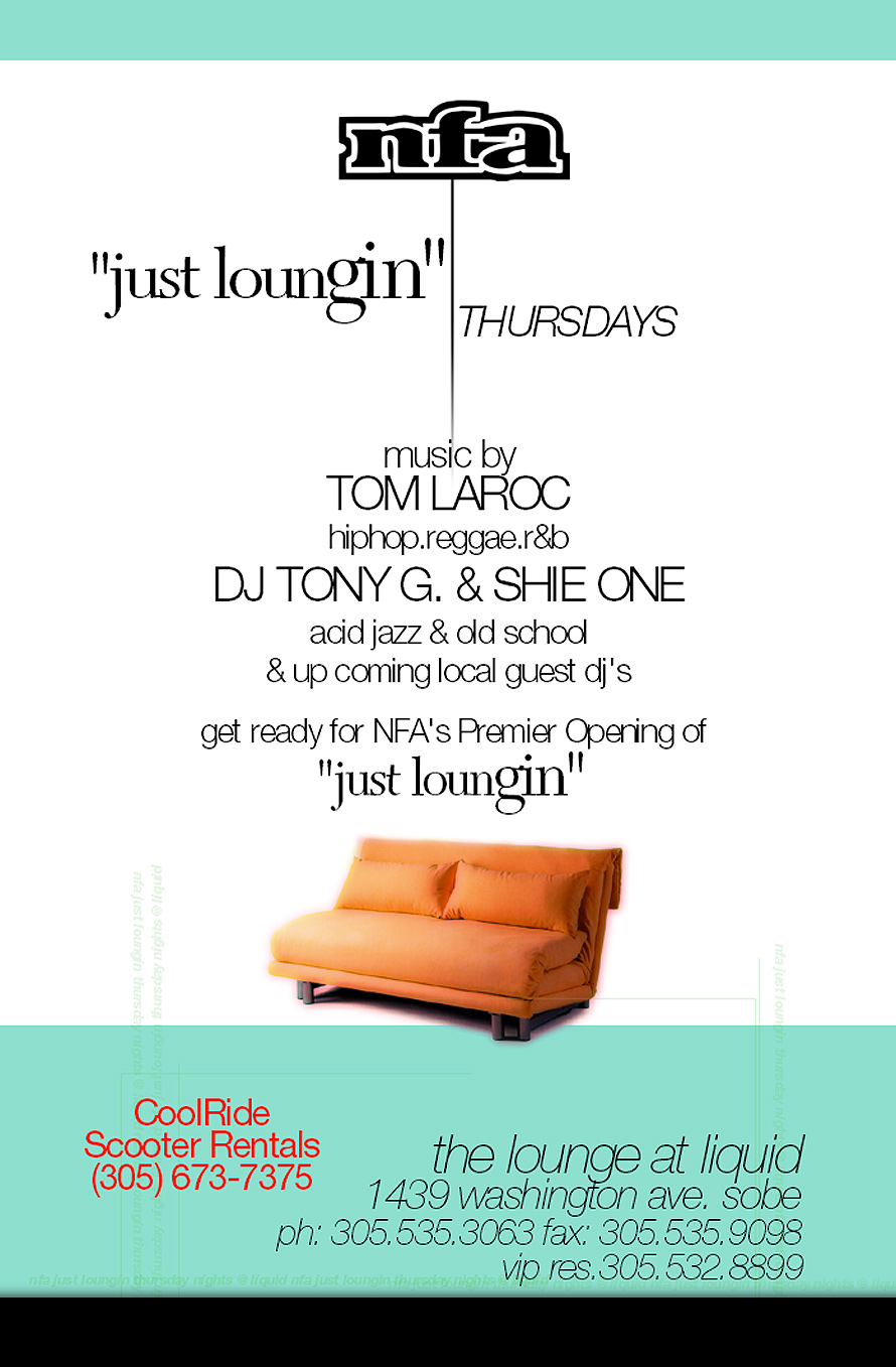 Just Loungin' Thursdays at Liquid Nightclub