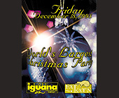 World's Biggest Christmas Party at Cafe Iguana - tagged with town