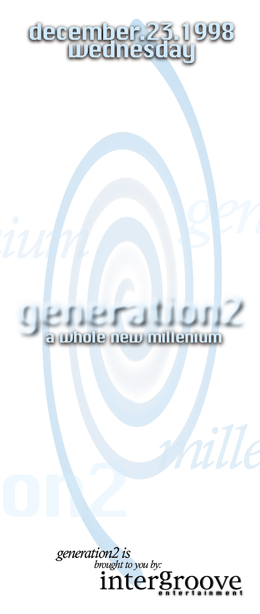 Generation2 A Whole New Millenium