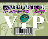 Blowin Up Winter Festival of Sound - tagged with complimentary admission