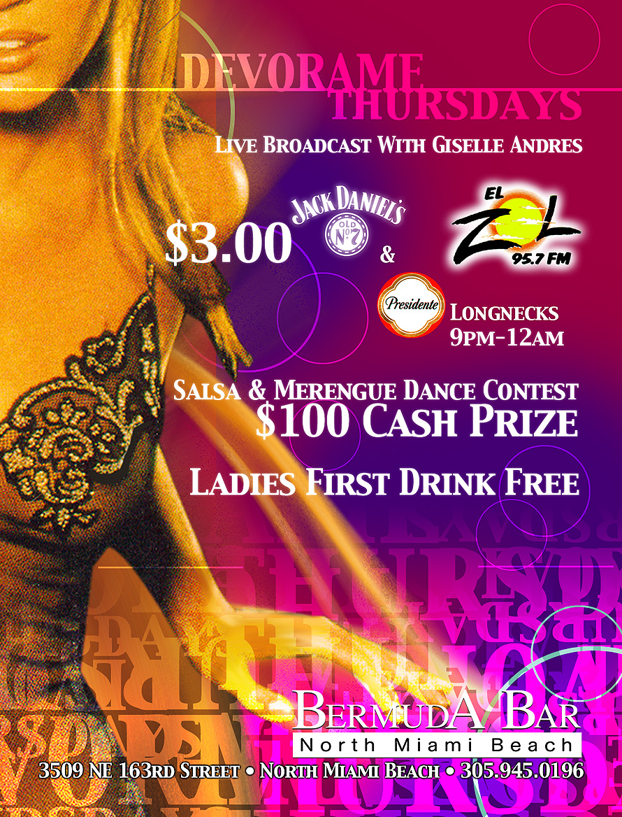 Devomore Thursdays at Bermuda Bar