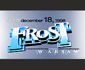 Frost at Warsaw Ballroom - tagged with dj krazy j