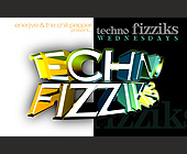 Techo Fizziks at The Chili Pepper - Flyer Printing