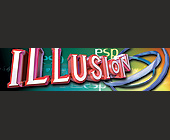 Illusion at KGB Nightclub - KGB Nightclub Graphic Designs