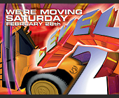 We're Moving Saturday at Cameo - 800x1050 graphic design