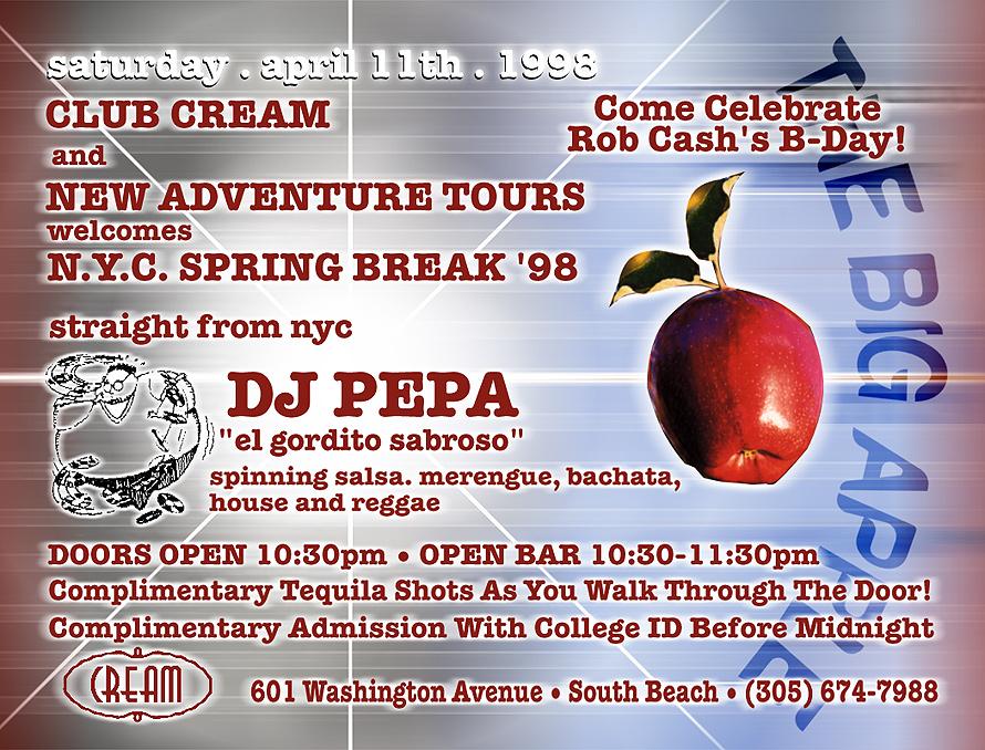 The Big Apple Meets South Beach at Club Cream