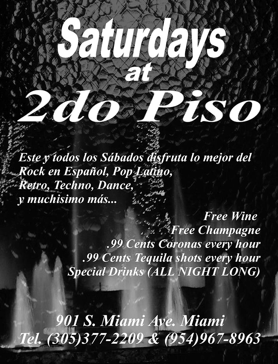 Saturdays at Segundo Piso
