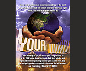 Your World Event at Club Deep - created March 03, 1998