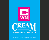 Wednesday Nights at Cream Nightclub - Reggae Graphic Designs