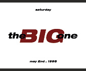 The Big One at KGB Lounge - KGB Nightclub Graphic Designs