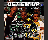 Disco and the City Boyz Get Em Up - Music Graphic Designs