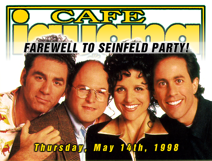 Farewell to Seinfeld Party at Cafe Iguana Beachplace