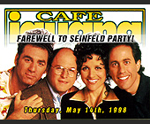 Farewell to Seinfeld Party at Cafe Iguana Beachplace - tagged with males