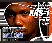 KRS-One at Cameo - 1313x1000 graphic design
