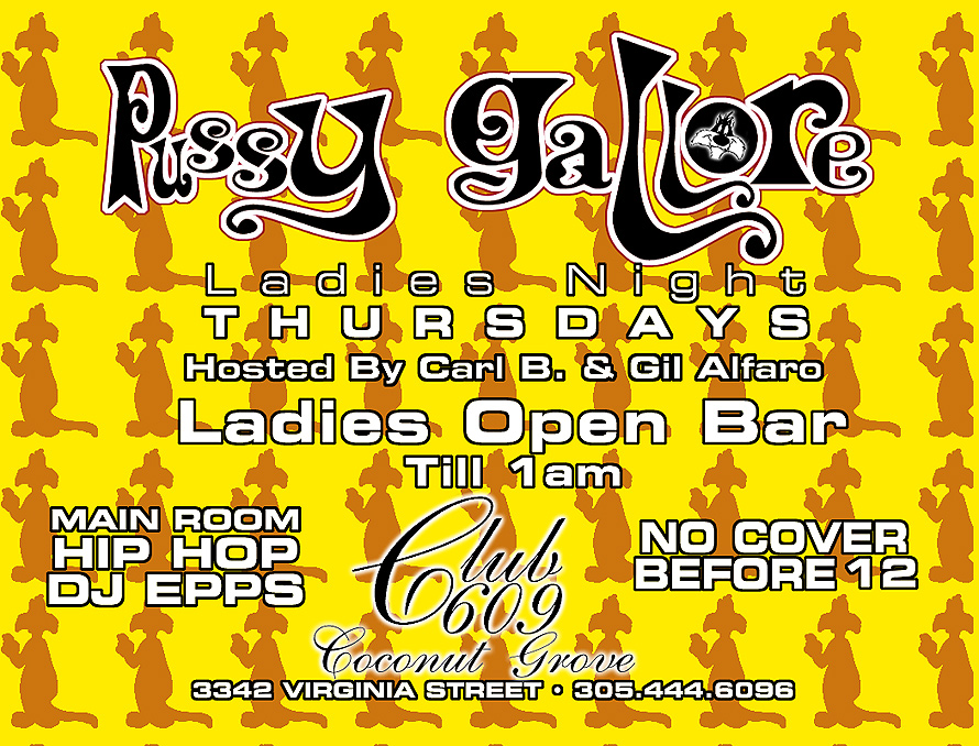 Ladies Night Thursdays at Club 609