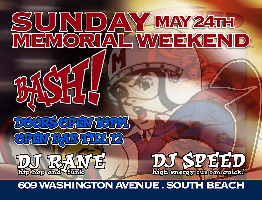 Sunday Memorial Weekend