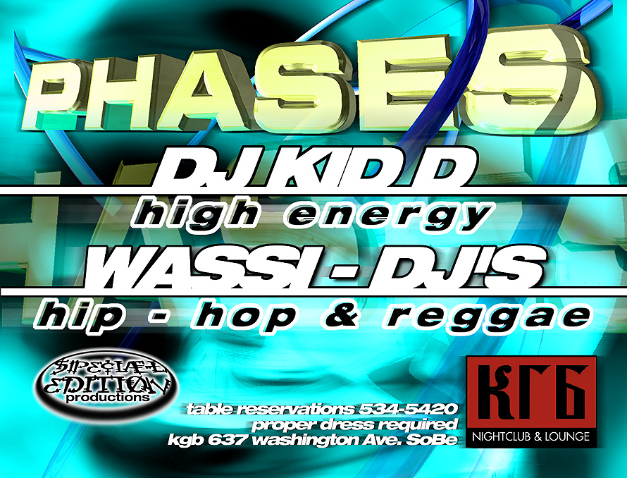 Phases Event at KGB Nightclub