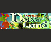 Never Land First Contact - Salvation Nightclub Graphic Designs