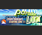 Paradise Lost at Sundays on the Bay - 1000x2625 graphic design