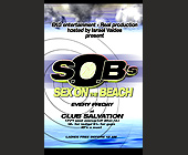 Sex on the Beach Every Sunday at Club Salvation - tagged with id
