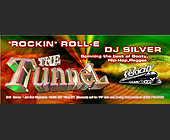 Velocity Entertainment Presents The Tunnel at Jet Set - 2625x1063 graphic design