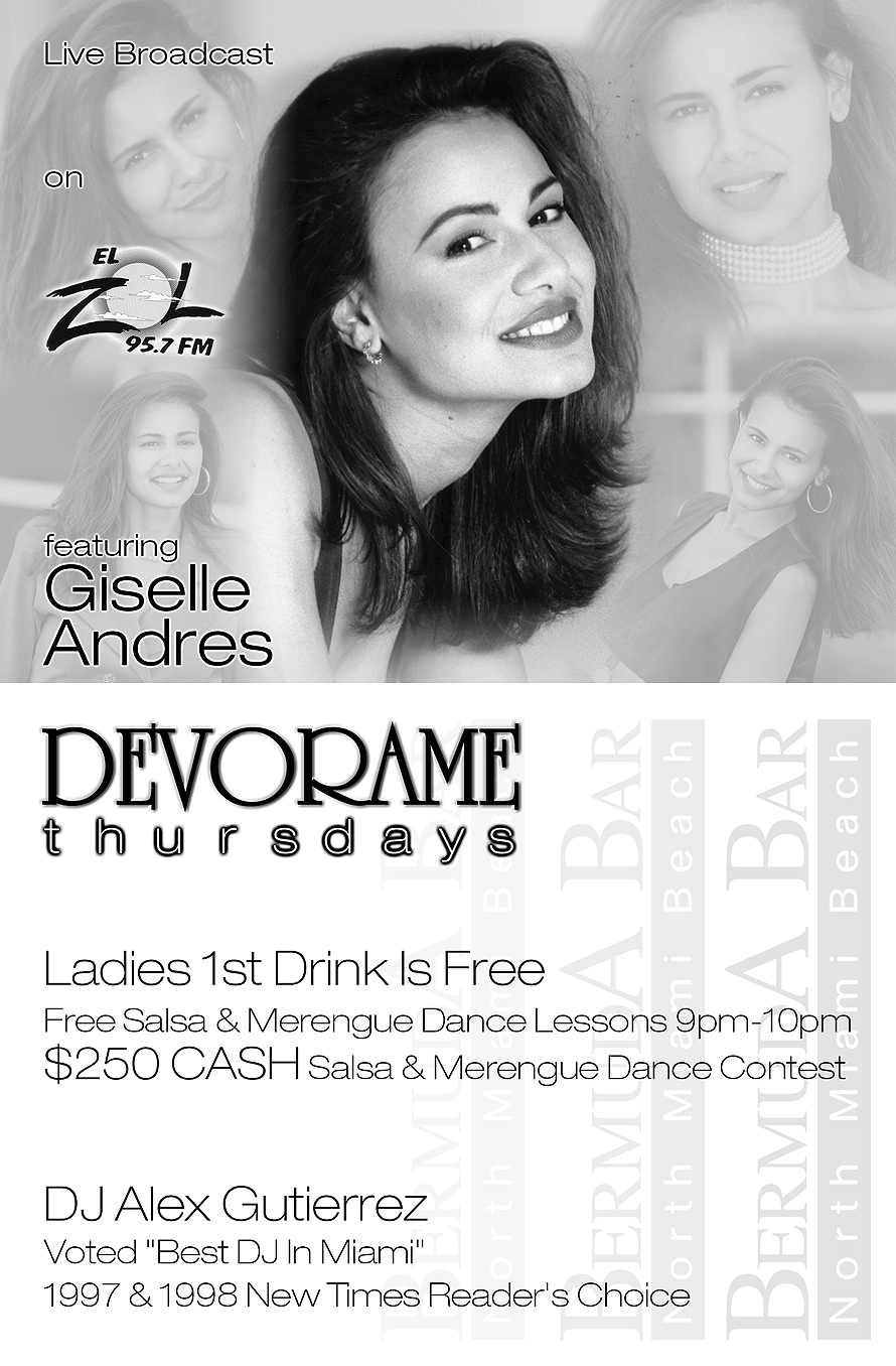 Devoramae Thursdays at Bermuda Bar