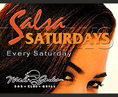 Salsa Saturday at Mad Jacks - Latin Graphic Designs