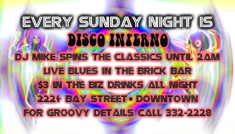 Disco Inferno at Sky Bar
