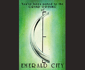The Grand Opening of Emerald City - Nightclub