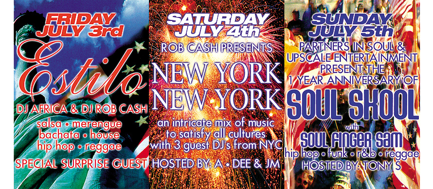 Independence Day Weekend at Club Cream