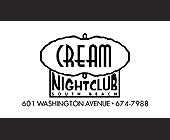 Cream Nightclub VIP Pass - created June 30, 1998