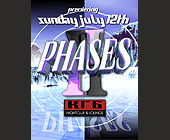 Phases Two at KGB Nightclub - tagged with over welcome
